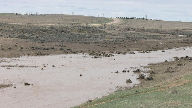 Beaver River flows for first time in decades near Guymon | KOKH