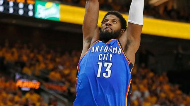 06346a662e6 Rubio s triple-double leads Jazz past Thunder 115-102