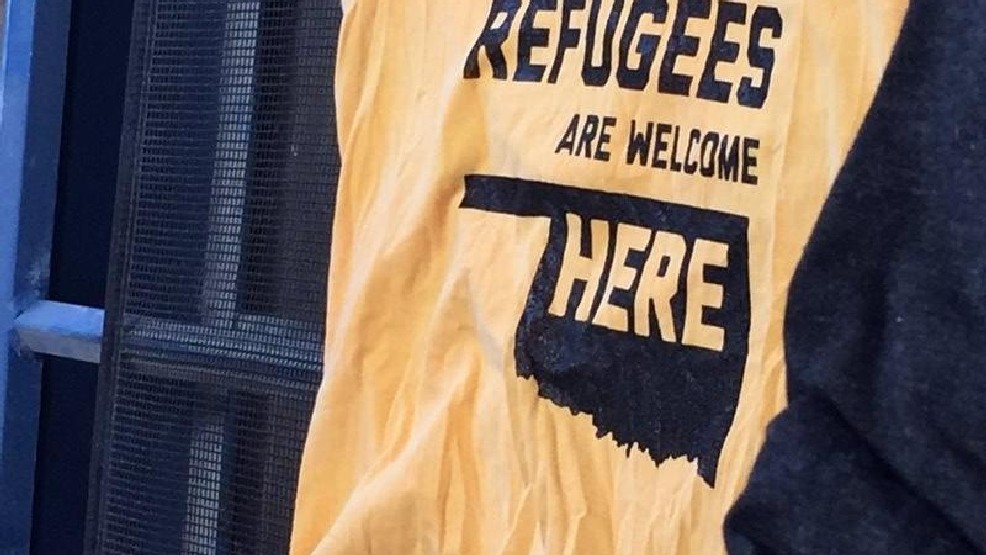 Downtown shop printing refugee support t shirts news for Local t shirt print shops