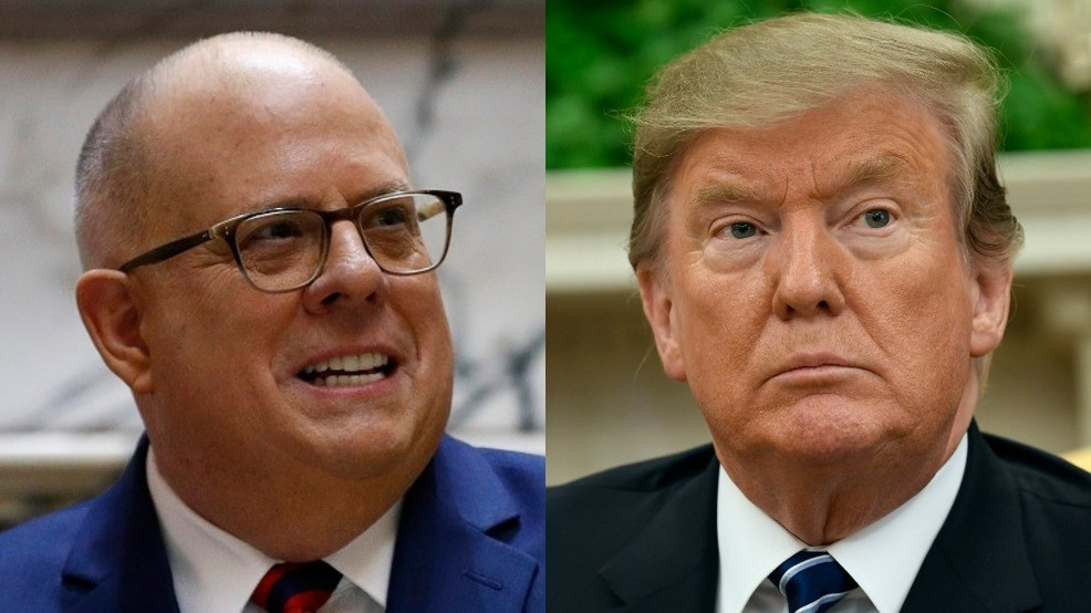 7b4eee919f1 Maryland Gov. Larry Hogan considering a 2020 primary challenge to Trump