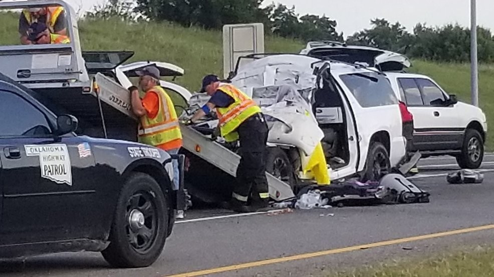 OHP: 3rd person dies after I-35 wreck near Purcell   KOKH