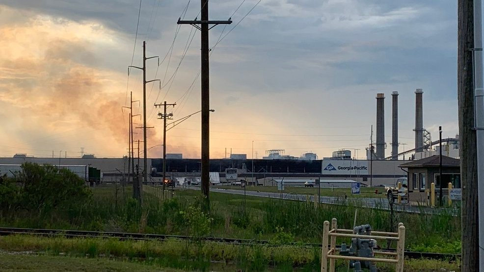 Firefighters: No one injured in Muskogee paper plant