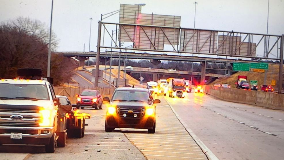 Person killed by vehicle along I-44 near Broadway Extension