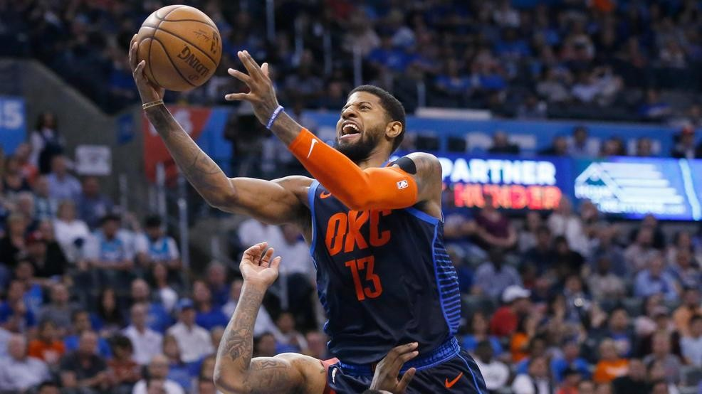 07f3d67fa8ff George hits game-winner as Thunder rally to beat Rockets