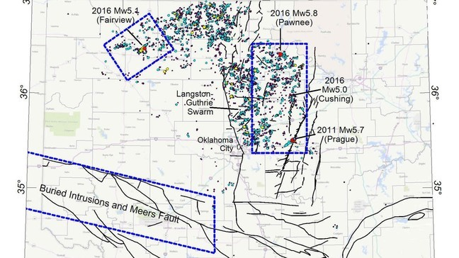 USGS conducting low-level flights to improve Oklahoma fault maps | KOKH